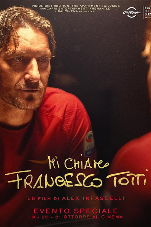 Biglietti Mi chiamo Francesco Totti