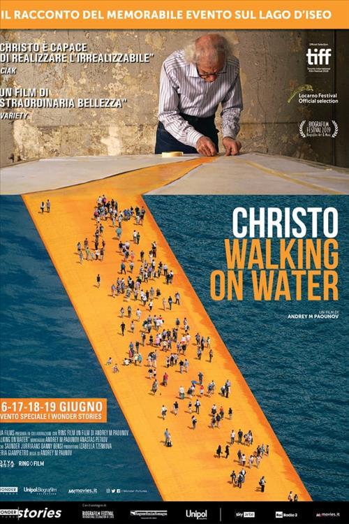 Biglietti Christo - Walking on water
