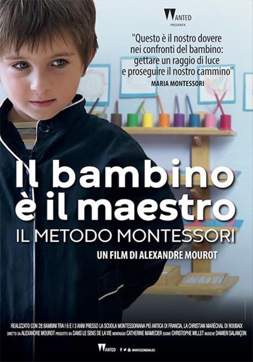 Biglietti Il bambino è il maestro - Il metodo Montessori