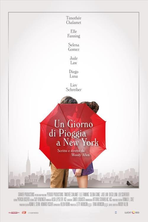 Biglietti UN GIORNO DI PIOGGIA A NEW YORK (A RAINY