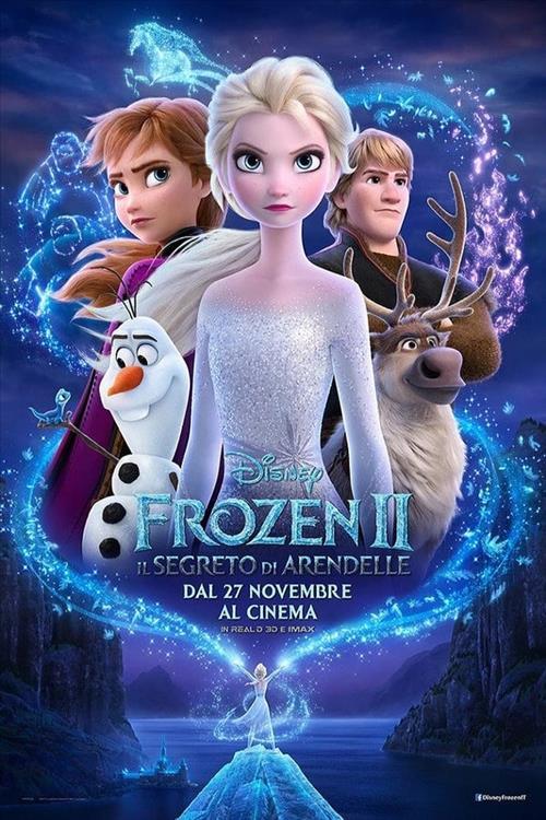 Biglietti Frozen II - Il segreto di Arendelle